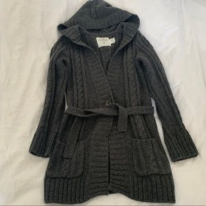 H&M Girls Cable Knit Cardigan